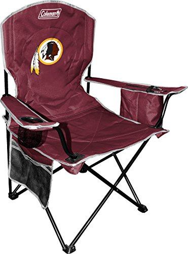 NFL Portable Folding Chair with Cooler and Carrying -
