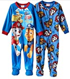 Nickelodeon Pack Paw Patrol Little Boys Footed Pajama 2T