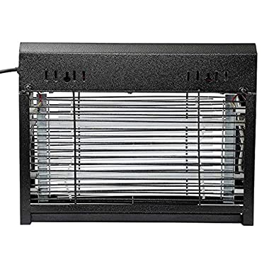 ZIGMA Metal 20W Electric Bug Zapper, Insect Killer, Fly Catcher (Matte Black) 10