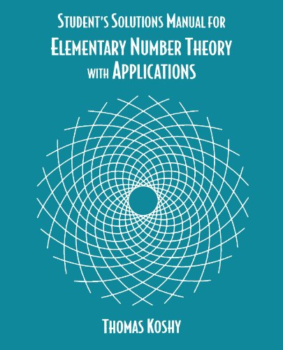 Student's Solutions Manual for Elementary Number Theory With Applications