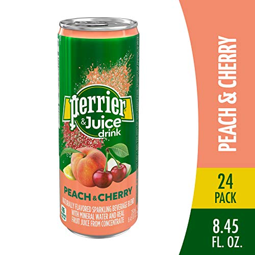 Perrier & Juice Drink, Peach and...