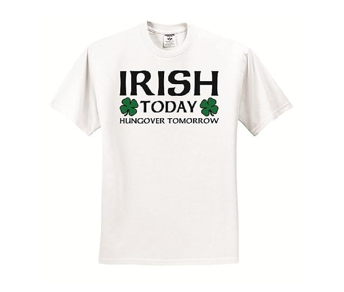 Amazoncom Sport Your Gear Irish Today Hungover Tomorrow Funny St