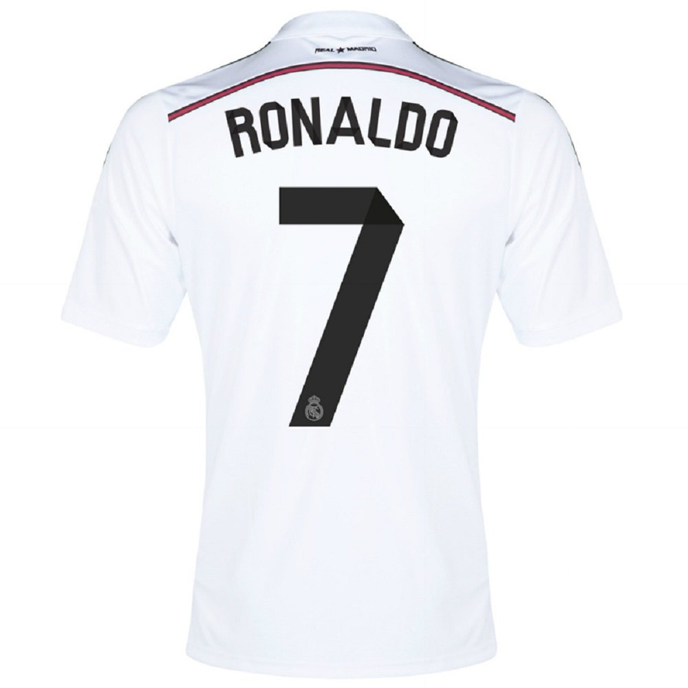 Adidas Ronaldo #7 Real Madrid Home Jersey 2015 (XL)