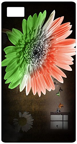 India flag in flower with orange white and green color amazon india flag in flower with orange white and green color with sun rise1 back cover case mightylinksfo