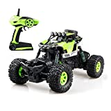 Gizmovine RC Rock Crawler Car 4WD 4 Modes Steering Waterproof 2.4Ghz Radio Control Toy Monster Truck Off Road (1/16 Scale)Green ZC0005-U2