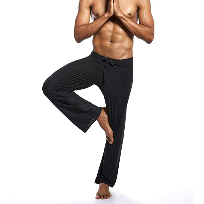 ODRD Yoga Hosen Herren Pants Männer Casual Slim Strandhosen