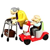 Wind-Up Racing Granny & Speeding Grandpa Grandad