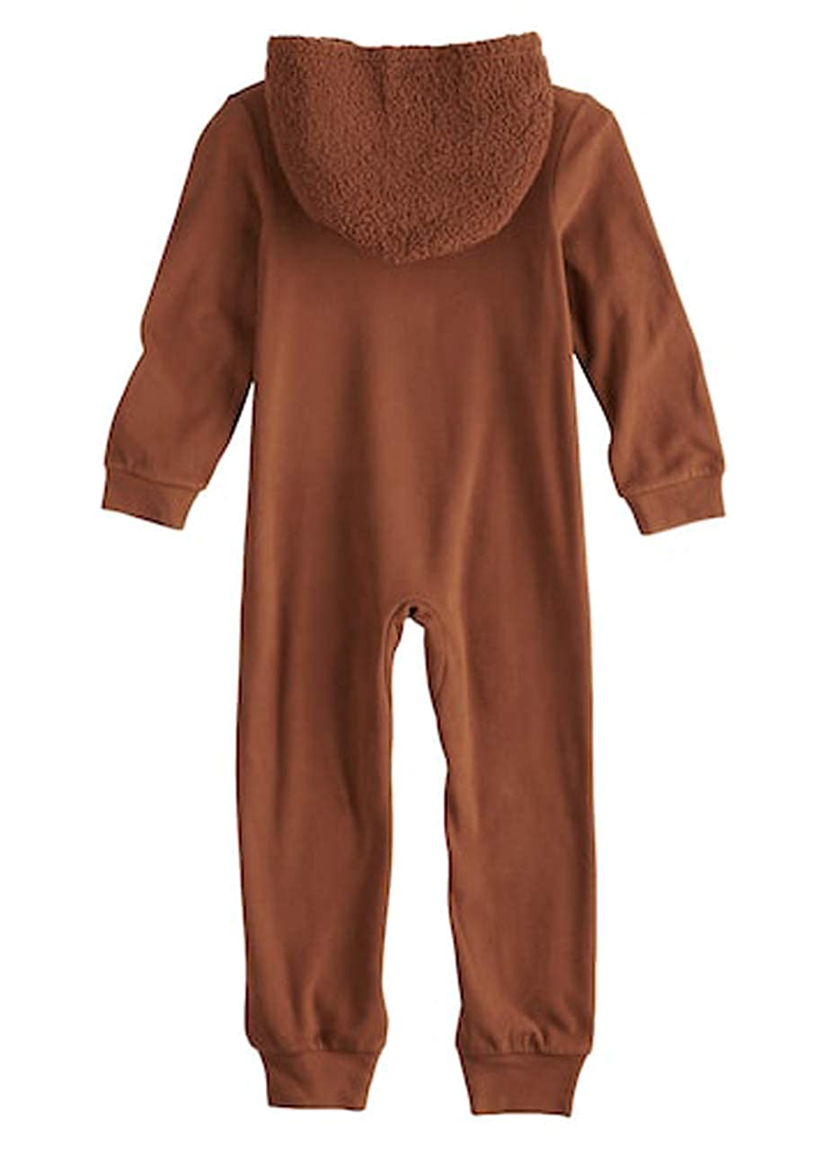 Amazon.com  Star Wars Boys Chewbacca Costume Union Suit Hooded Blanket  Sleeper Pajamas  Clothing a7598ae35
