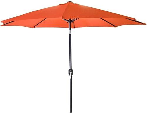 Jordan Manufacturing US904L-ORANGE Steel Market Umbrella