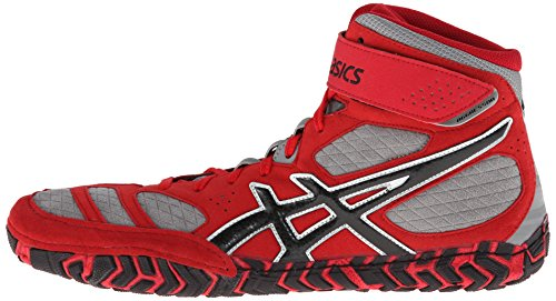 ASICS Men's Aggressor® 2 Fire Red/Black/Graphite 10 D - Medium