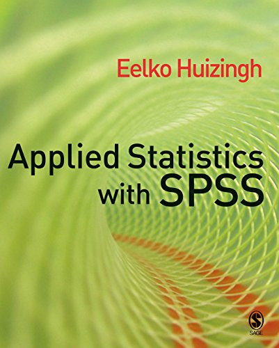 Download Applied Statistics with SPSS Pdf