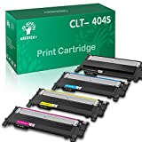 GREENSKY Compatible Toner Cartridge Replacement for Samsung CLT-K404S CLT-C404S CLT-M404S CLT-Y404S Xpress SL-C430W SL-C430FW SL-C480FW SL-C480W SL-C480FN (Black, Cyan, Yellow, Magenta, 4-Pack)