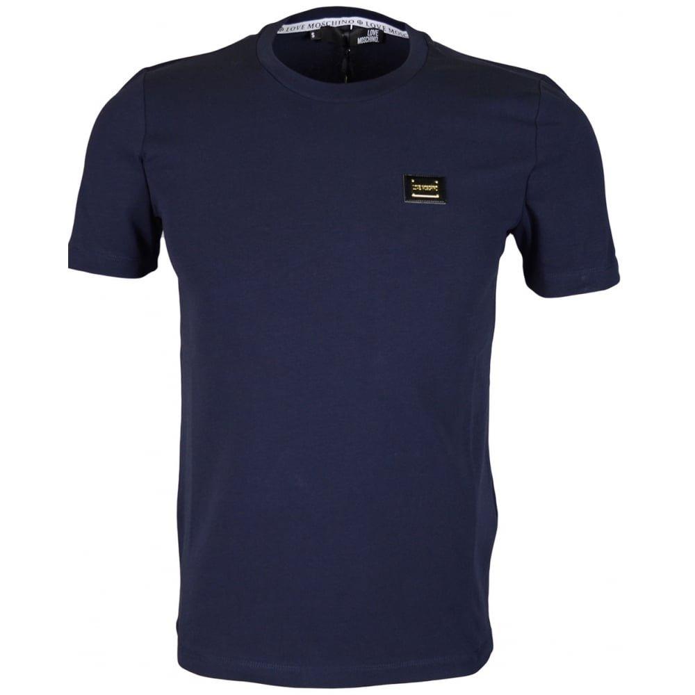 MOSCHINO M473182E1811 Love Slim Fit Navy T-Shirt XL Navy