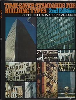 Awe Inspiring Time Saver Standards For Building Types Joseph De Chiara Inspirational Interior Design Netriciaus