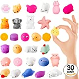 #9: Coral Entertainments Squishies Animal Toys 30 Pack Kawaii Squishy Set Mini Soft Squeezable Sensory Fidget Toys Slow Rising Decoration And Stress Relief