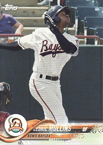 2018 Topps Pro Debut Baseball #101 Cedric Mullins Bowie Baysox