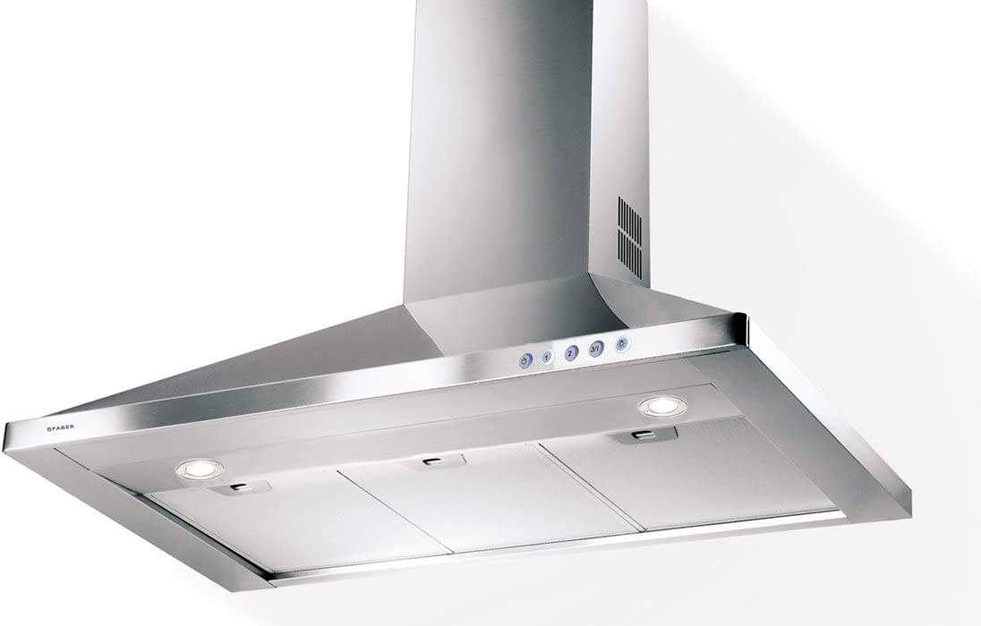 """Faber CLAS36SS Classica 36"""" Wall Canopy Range Hood with 600 CFM Motor in Stainless Steel"""