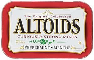 Altoids Pepper Mints, 50gmTin, 6 Count