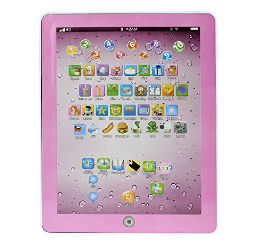 SMTSMT Child Touch Type Computer Tablet English Learning Study Machine - Learning Type Touch Computer
