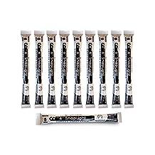 Cyalume SnapLight Industrial Grade Chemical Light Sticks, White, 6-Inch Long, 8 Hour Duration (Pack of 10)