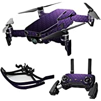 MightySkins Skin for DJI Mavic Air Drone - Antique Purple | Max Combo Protective, Durable, and Unique Vinyl Decal wrap cover | Easy To Apply, Remove, and Change Styles | Made in the USA