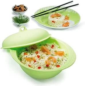 Mastrad M123583 - Cocedor de arroz Silicona microondas