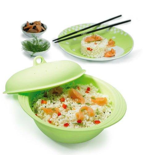 mastrad M123583 - Cocedor de arroz Silicona microondas ...