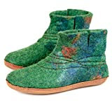 BureBure Customised Warm Wool Bootie Slippers for Women