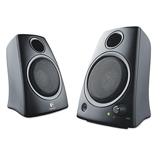 Logitech 980000417 Z130 Compact 2.0 Stereo Speakers, 3.5mm J