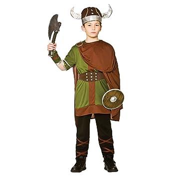 Wicked Costumes - Disfraz de Guerrero Vikingo, para niños: Amazon ...