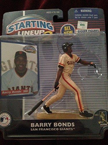 2001 Barry Bonds - Barry Bonds Starting Lineup 2