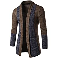 Men's Knitwear,Morecome Men Autumn Winter Sweater Cardigan Knit Sweatshirt