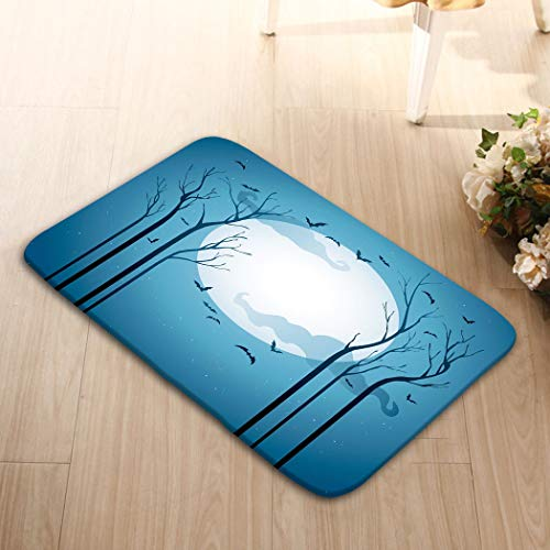 YILINGER Non-Slip Doormat Non-Woven Fabric Floor Mat Indoor Entrance Rug Decor Mat (23.6
