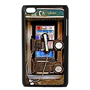 Custom Your Own Public Payphone Ipod Touch 4 case , Special designer Payphone Ipod 4 Case
