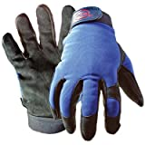 Boss Gloves 890X Extra Large Black & Blue Boss® Guard™ Leather Gloves