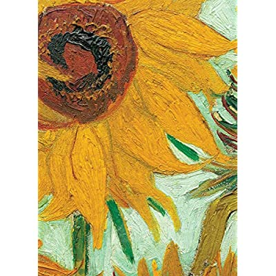 Sunflowers by Vincent Van Gogh 1000-Piece Puzzle: Toys & Games