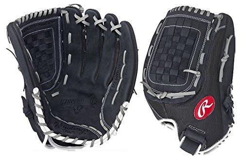 - Rawlings R140BGB Renegade Series Pro Mesh Back Glove, Black, 14