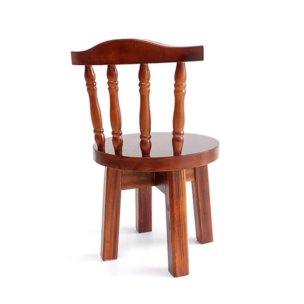 Solid Wood Head Stool Chair Adult Household Stool Simple Short Stool Fashion Small Stool Small Wooden Stool Back