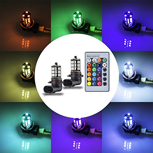 Multi Color Led Fog Light Bulb in US - 7