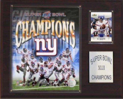 NFL Giants Super Bowl XLII Champions Plaque (Bowl Championship Super Plaque)
