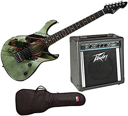 Guitarra eléctrica Peavey Superman Rockmaster, Gator Gig Bag, Solo ...