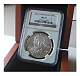 Silver Dollar Louis Braille MS-70 2009
