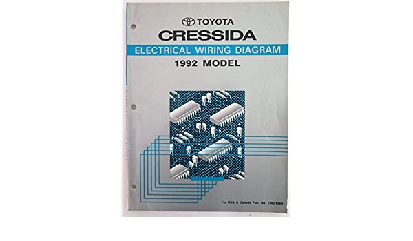 1992 toyota cressida wiring diagram manual original toyota amazon rh amazon com Oldsmobile 88 Wiring Diagram GMC Van Wiring Diagram