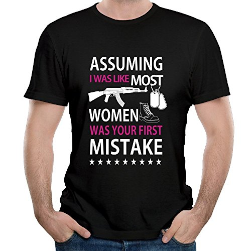 NOAC Men's Assuming I Was Like Most Women - Mistake T-shirt - Locksley Clothing