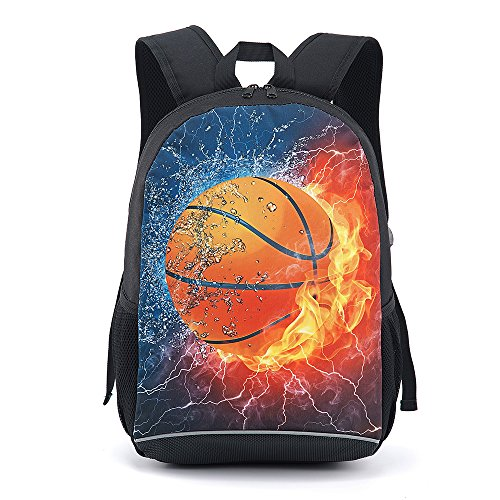 Lights & Lighting Open-Minded Coloranimal 3d Ball Print Youth Boy School Backpack Baseballly Basket Ball Schoolbags Men Casual Rucksack Kids Children Satchel