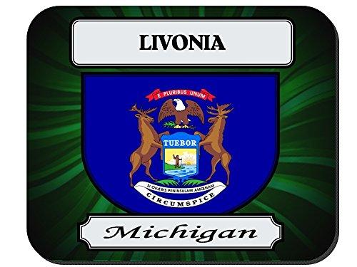Livonia, Michigan (MI) City Mouse Pad (City Livonia)