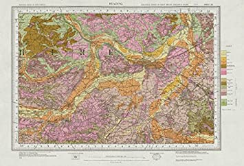 Amazoncom Reading geological survey sheet 268 Thames Valley
