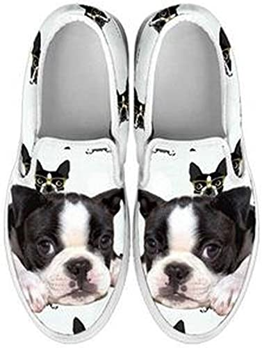 Amazon.com   Boston Terrier Slip Ons