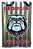 Flora Decor UGA Bulldog Metal Sign with Hanger