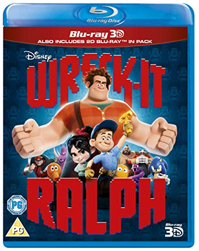 Wreck It Ralph 3-d [Blu-ray]